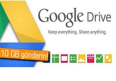 Gmail ile 10 GB E-mail Göndermek Artık Mümkün