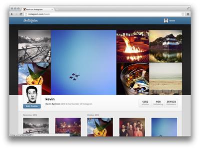 Instagram'dan Web Atağı