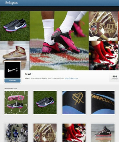 Instagram Profil Sayfası ve Markalar