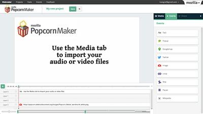 Mozilla Popcorn Maker ile Video Ve Web Bir Potada Eritiliyor