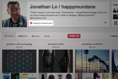 Pinterest Profil Onayına Başladı