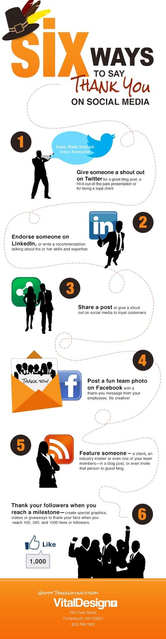 Sosyal Medyada Teşekkür Etmenin 6 Yolu