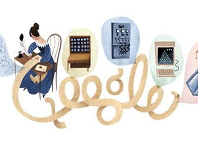 Google'da Ada Lovelace'a Özel Doodle