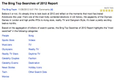 İnternette 2012′nin Özeti