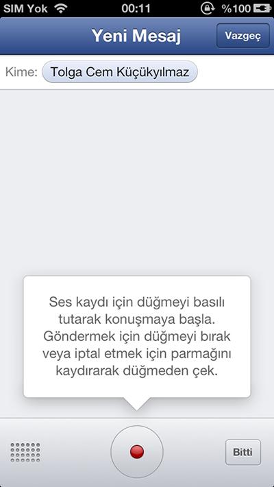 Facebook iOS Uygulaması Güncellendi!