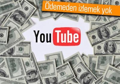 YouTube'a Paralı Kanallar Geliyor