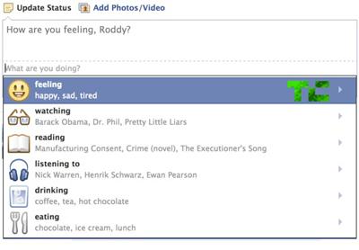 Facebook'tan Yeni Durum Güncellemesi