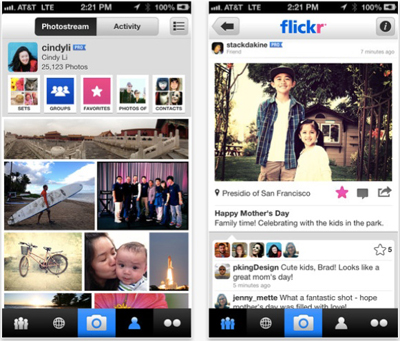 Flickr İOS Uygulamasının Sosyal Özellikleri Genişletildi, Fotoğraf Yükleme İşlemi Hızlandı