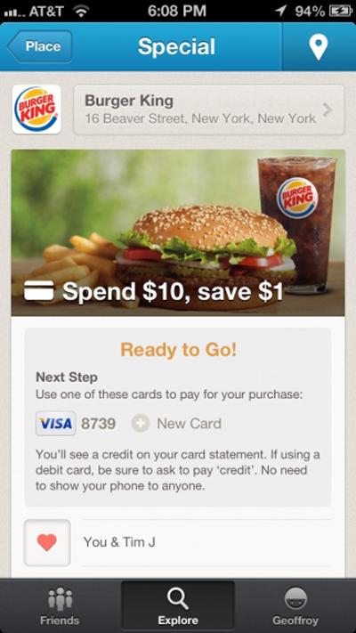 Foursquare, Visa Ve MasterCard İle İşbirliği Anlaşması Yaptı