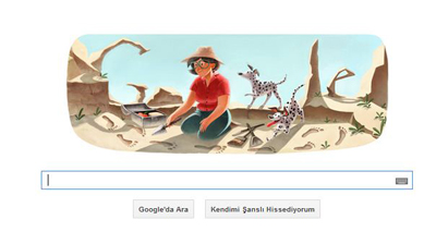 Google Mary Leakey'i Unutmadı