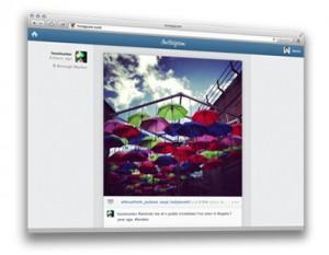 Instagram Web'e Hazır!