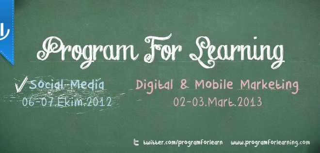Program for Learning: Digital and Mobile Marketing