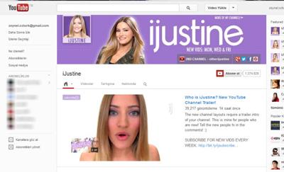 YouTube Yeni Kanal Tasarımını Deniyor...