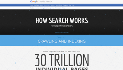 Google Arama Sisteminin Nasıl İşlediğini Yeni İnteraktif Sitesiyle Anlatıyor