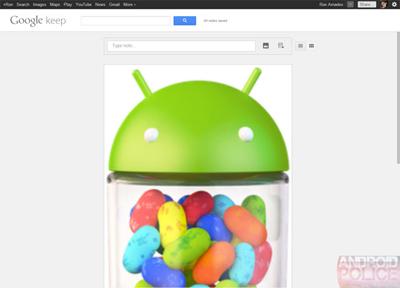 Google'ın Evernote Benzeri Servisi Keep Bir Göründü, Bir Kayboldu