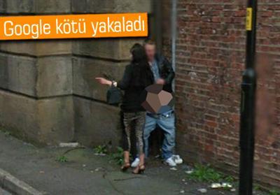 Google Street View Bu Sefer Bir çifti Uygunsuz Yakaladı