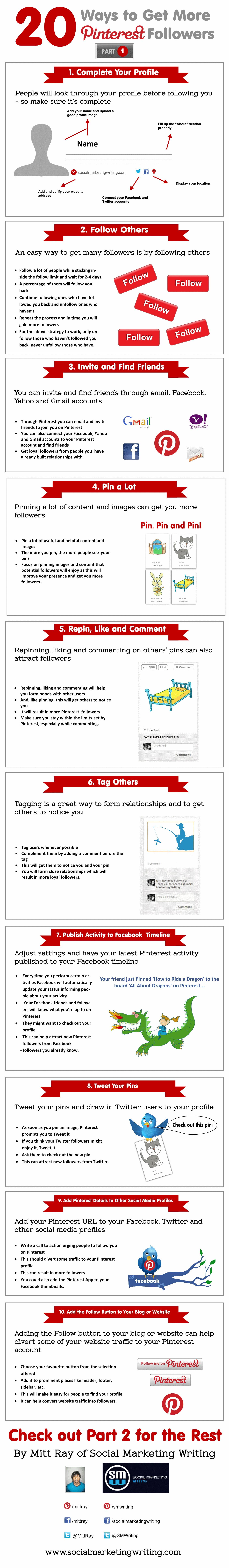 Pinterest Takipçilerinizi Artırmanın 20 Yolu