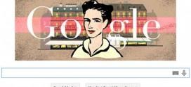 Simone de Beauvoir'a Google'dan Özel Doodle