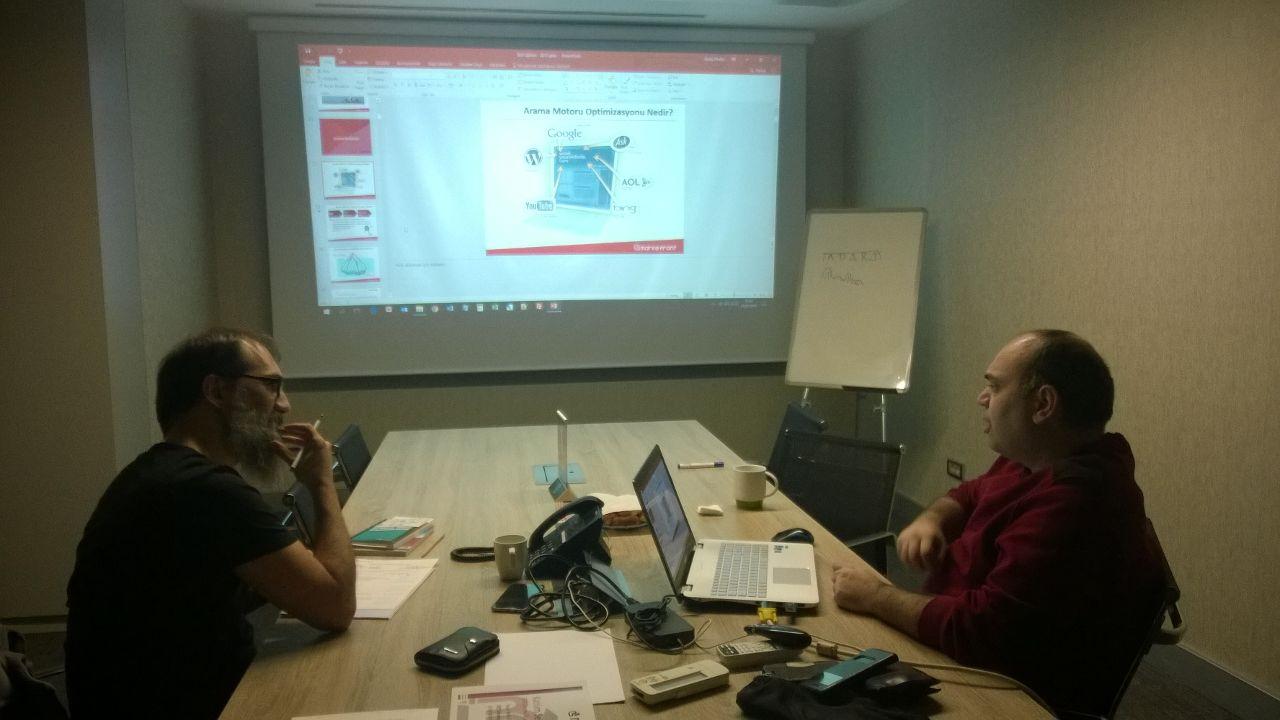 MarkeFront - SEO Eğitimi 21 Şubat'ta Gerçekleşti