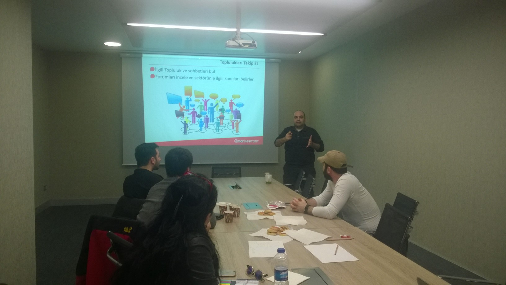 MarkeFront – Sosyal Medya Yönetim Strateji Eğitimi 30 Mart'ta Gerçekleşti