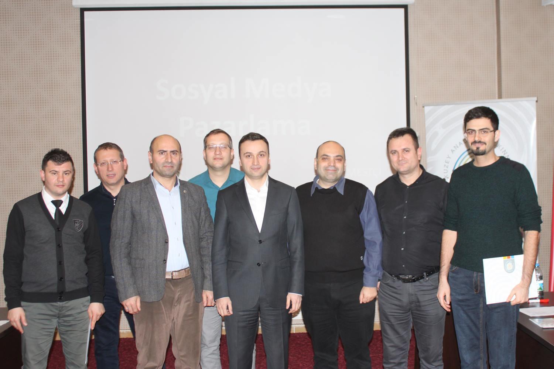 MarkeFront, T.C. Kuzey Anadolu Kalkınma Ajansına Etkili Sosyal Medya Kullanımı Eğitimi Verdi